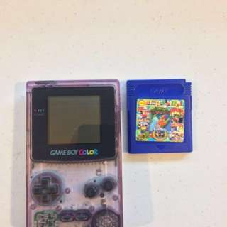 GameBoy Color + 12 games