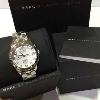 Marc jacobs watch silver tone (for small wrist)