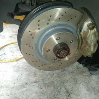 Brakes, the drums, shoes, pads.. etc