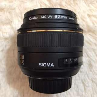 Sigma 30mm F1.4 DC for Nikon F-Mount