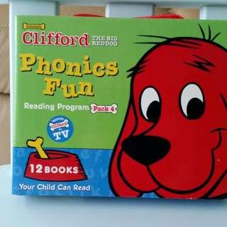 Clifford fun with phonics set 4
