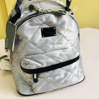 Rush Sale Authentic Parfois Silver Backpack
