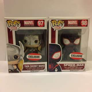 EXCLUSIVE BRAND NEW - Pop Vinyl MARVEL