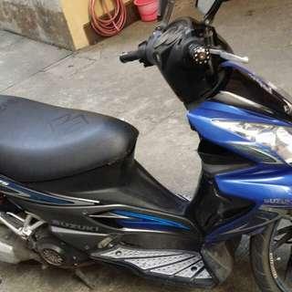 Suzuki hayate 125 scooter motorcycle