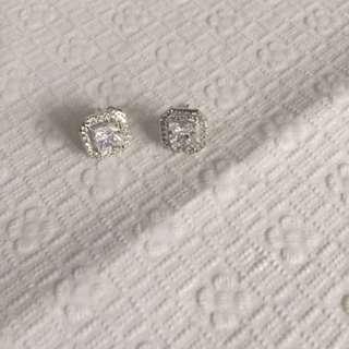 Rodium Earrings