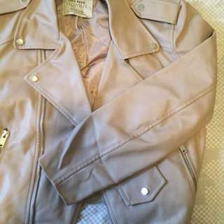 NEW Zara leather jacket