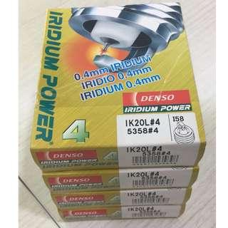Genuine Denso Iridium Spark Plugs IK20L