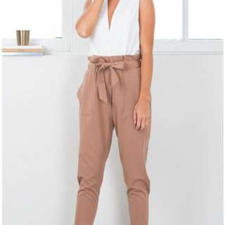 SHOWPO WORK UP PANTS CAMEL