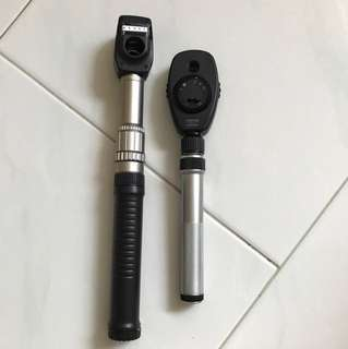 Neitz Retinoscopy & Heine Ophthalmoscope