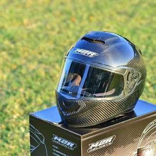 ☆宥鈞機車騎士精品☆M2R XR-5 XR5 碳纖維 彩繪 #3 黑色 全罩 安全帽 Carbon 碳纖維