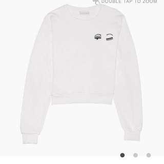 Size S only 全新Chiara Ferragni sweatshirt