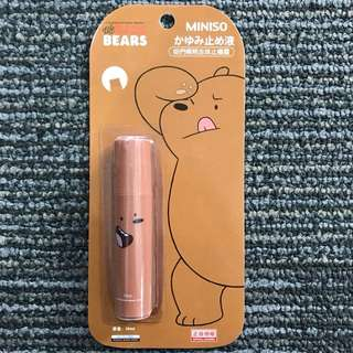 WEBAREBEARSXMINISO Roll-on Insect Repellant