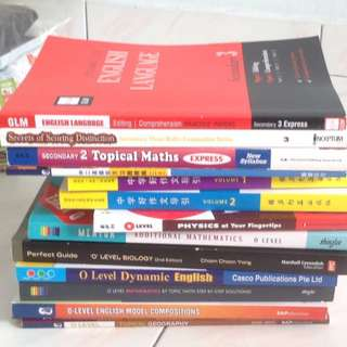 Assessment Books Bundle (Sec 2-4 Assessment Books with O Level Guidebooks)