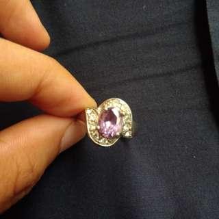 Pre-loved Avon Jewelry Amethyst Ring
