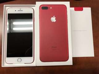 iPhone 7+ 256GB Red, LIMITED OFFER!!!