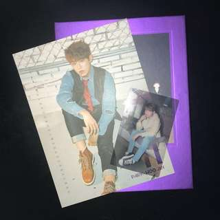 [WTT] park woojin calender card and photocard