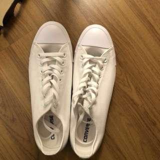 Converse All Star , Full White .