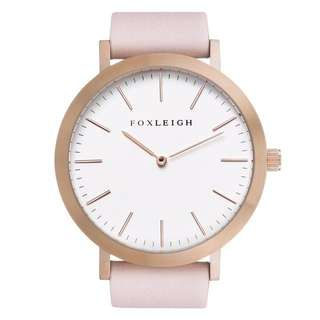 Foxleigh Rose Gold & Peach Pink Watch