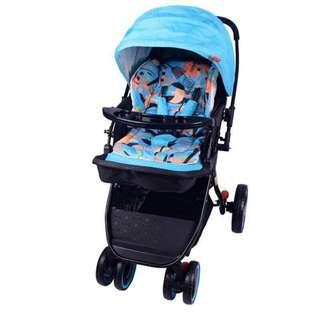 Baby Stroller #T808 Blue