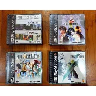 Playstation 1 (PS1) Games