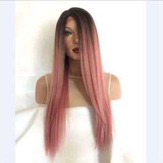 Peachy Lace Front Wig