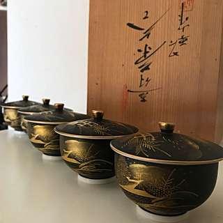 5 Piece Japanese Tea Set