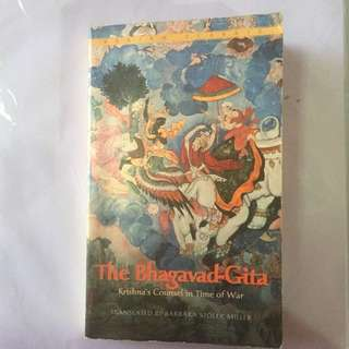The Bhagavad-Gita: Krishna's Counsel in Time of War. Translated by Barbara Stoler Miller