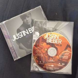 Justin bieber CDs
