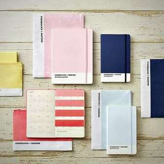 2018 Starbucks Planner coral pink (1) -Korea Design