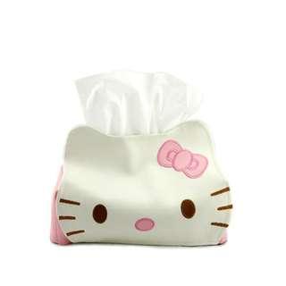Tempat tissue hello kitty dan pooh/tempat lucu - HHM259