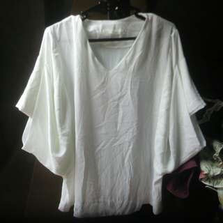 Repriced White classy top