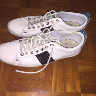 Paul Smith osmo white shoes size uk 7 (fit like us 9.5)*used
