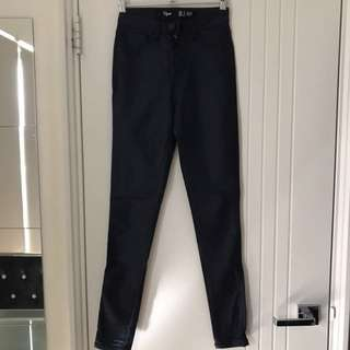 Factorie Viper Navy Skinny Jeans Size 8