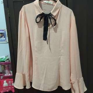 ACcent shirt Peach