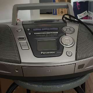 Panasonic CD and Cassette Player