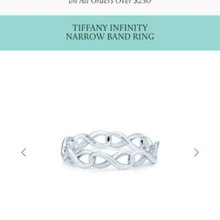 Tiffany & Co. Infinity Ring in Sterling Silver