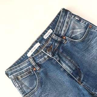 Wrangler Mid Twiggy Jeans AU7