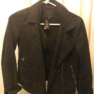 ARITZIA | Talula cloth-like Biker Jacket