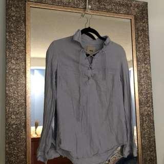 ASOS blue colour top, size 0
