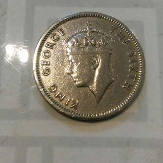 Old Coin Of Malaya