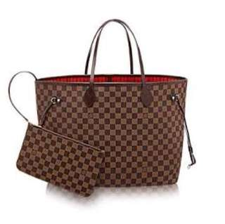 PRE LOVED LV NEVER FULL (AUTHENTIC WITH RECEIPT, BOX, DUSTBAG)