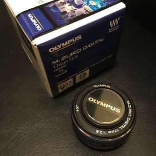 Olympus 17mm f2.8鏡頭