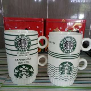 Starbucks ceramic cups