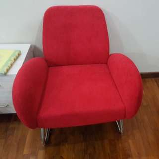 Red hot sofa for sale