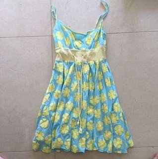 Cute pattern sun dress