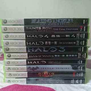 WTS Xbox 360 Games