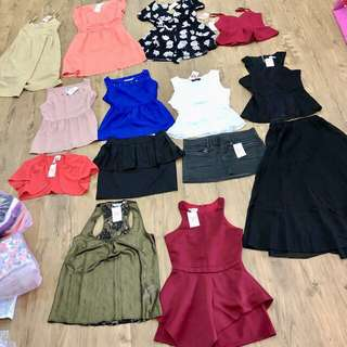 BN and PL Dresses, Tops, Skirts Of Various Brands
