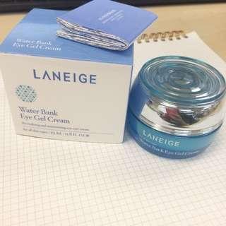 Laneige water bank eye gel cream