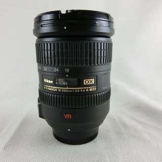 NIKON AF-S 18-200mm F3.5-5.6 G DX ED 紅VR