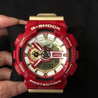 🎅🏻Xmas gift idea!!!Casio G-SHOCK iron man limited edition GA-110CS